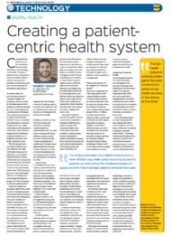 RelateCare Rob Grant creating a patient centric health system