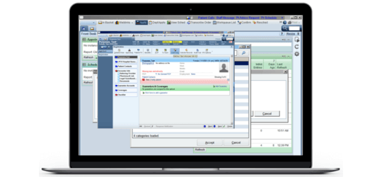 RelateCare electronic health record guided scheduling questionnaires