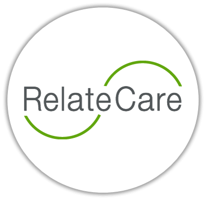 RelateCare logo in a circle